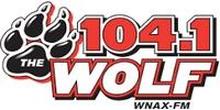 WNAX-FM The Wolf 104.1