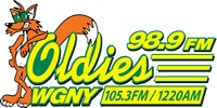 WGNY-FM Oldies 98.9